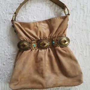 Kathy Van Zeeland Hobo Slouch Bag